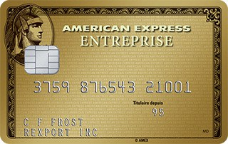 carte or pme entreprise d american express