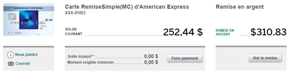 compte remise simple