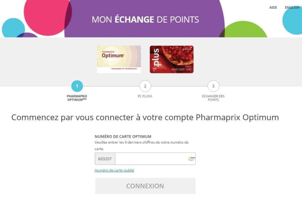 conversion pharmaprix pc plus