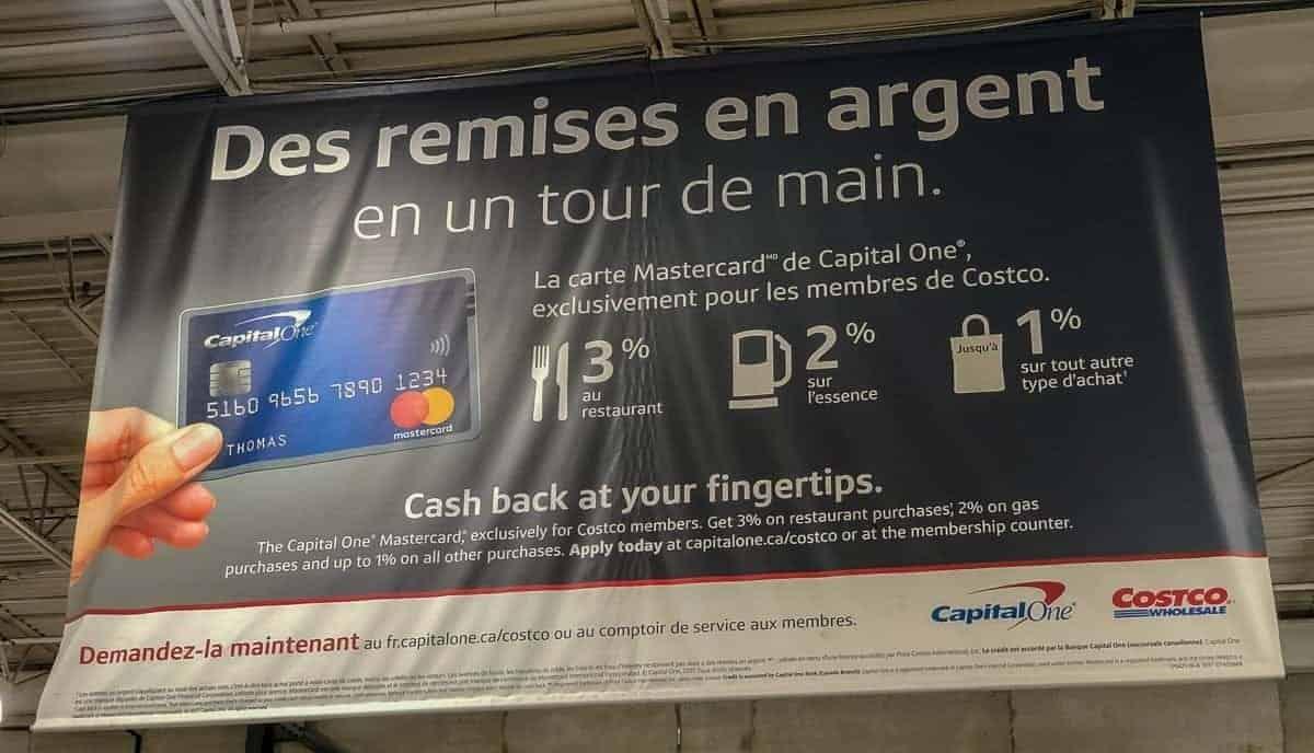 costco capital one affiche