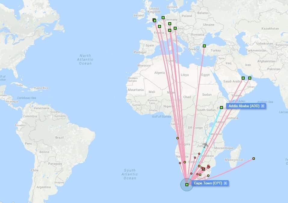 Partir En Afrique Du Sud Avec Les Points & Miles: L'avion