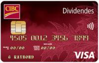 dividendes cibc visa