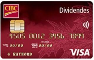 dividendes cibc visa etudiants