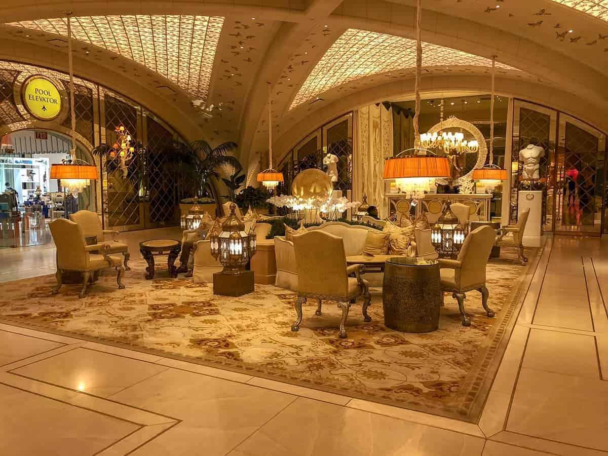 spa de l'Hôtel Encore Las Vegas.
