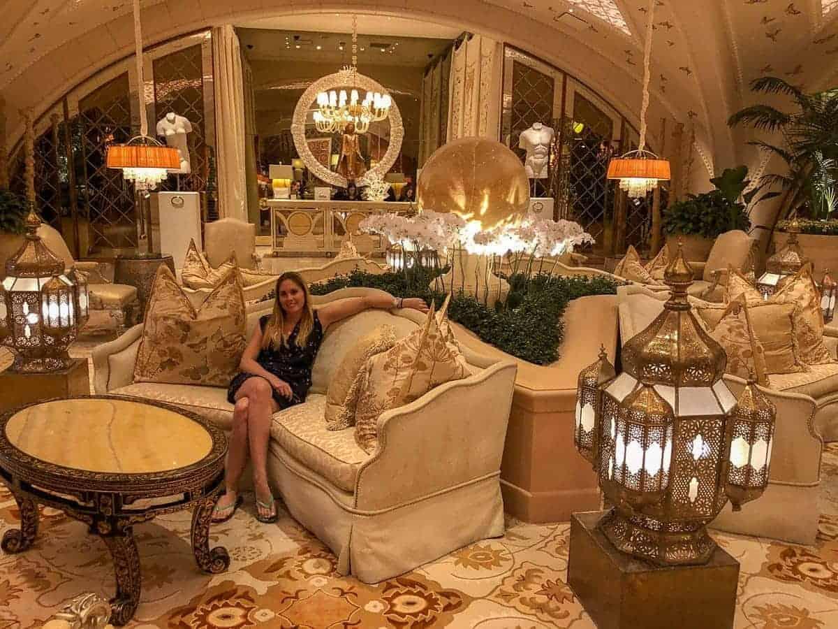 salon du spa de l'Hôtel Encore Las Vegas.