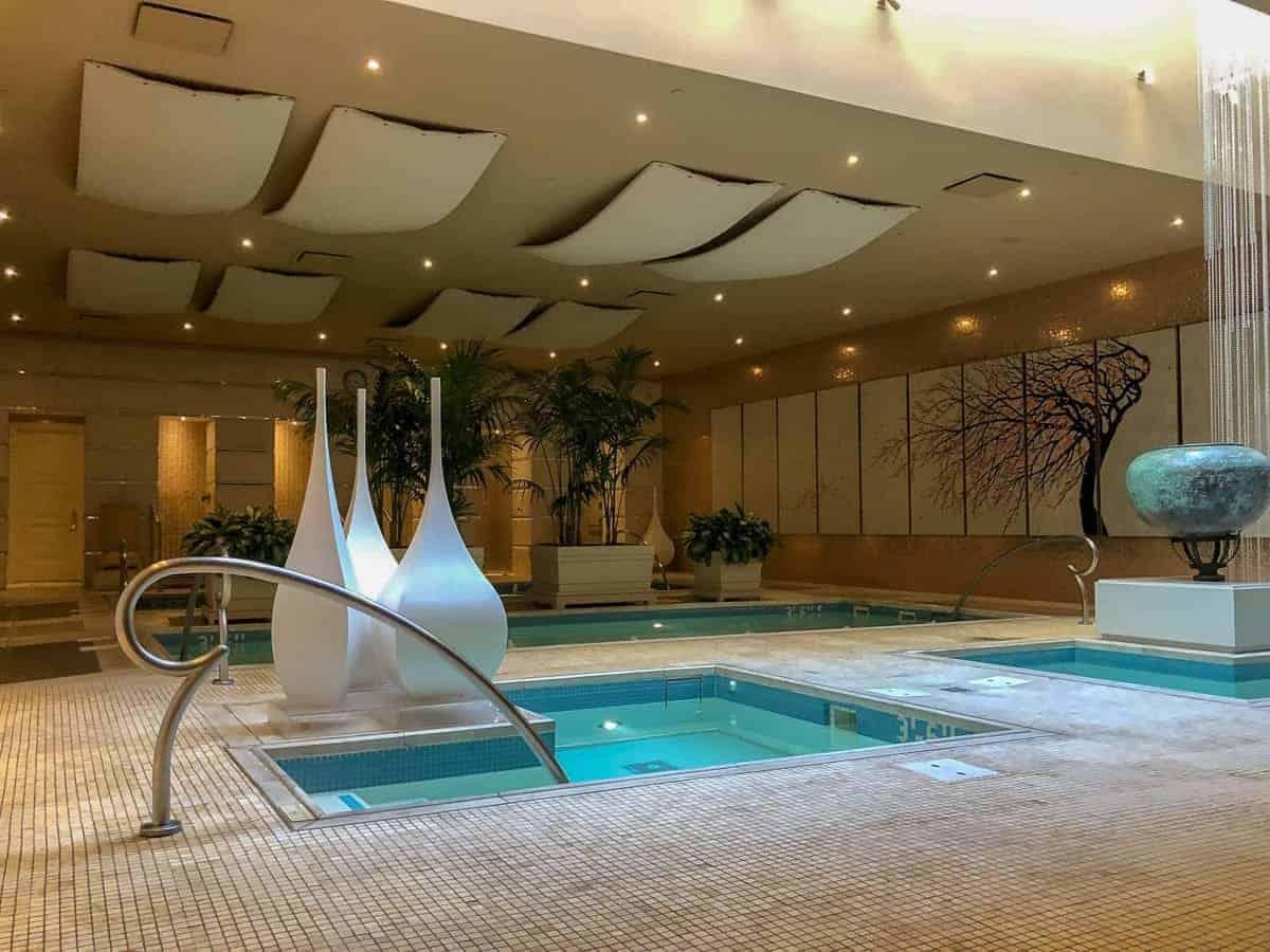bains spa de l'Hôtel Encore Las Vegas.
