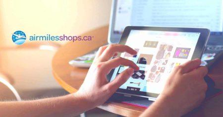 featured boutique airmilesshopsca sur ipad