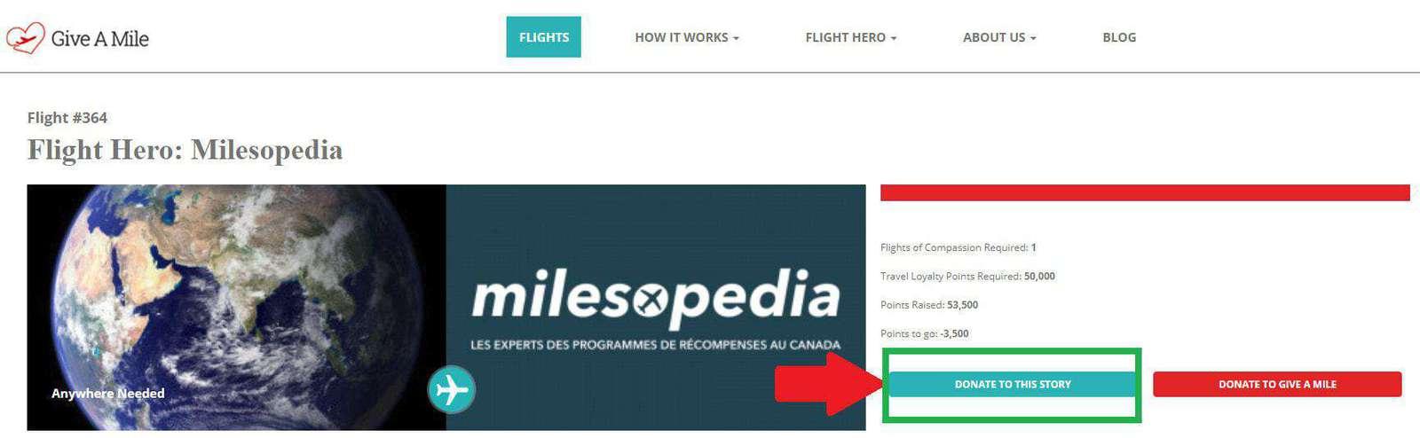 give a mile milesopedia