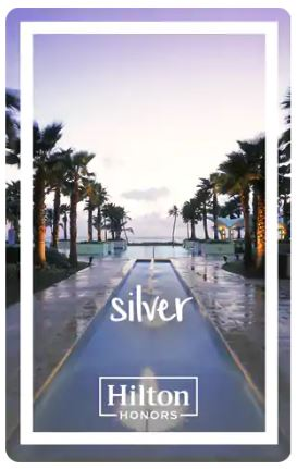 hilton honors status silver