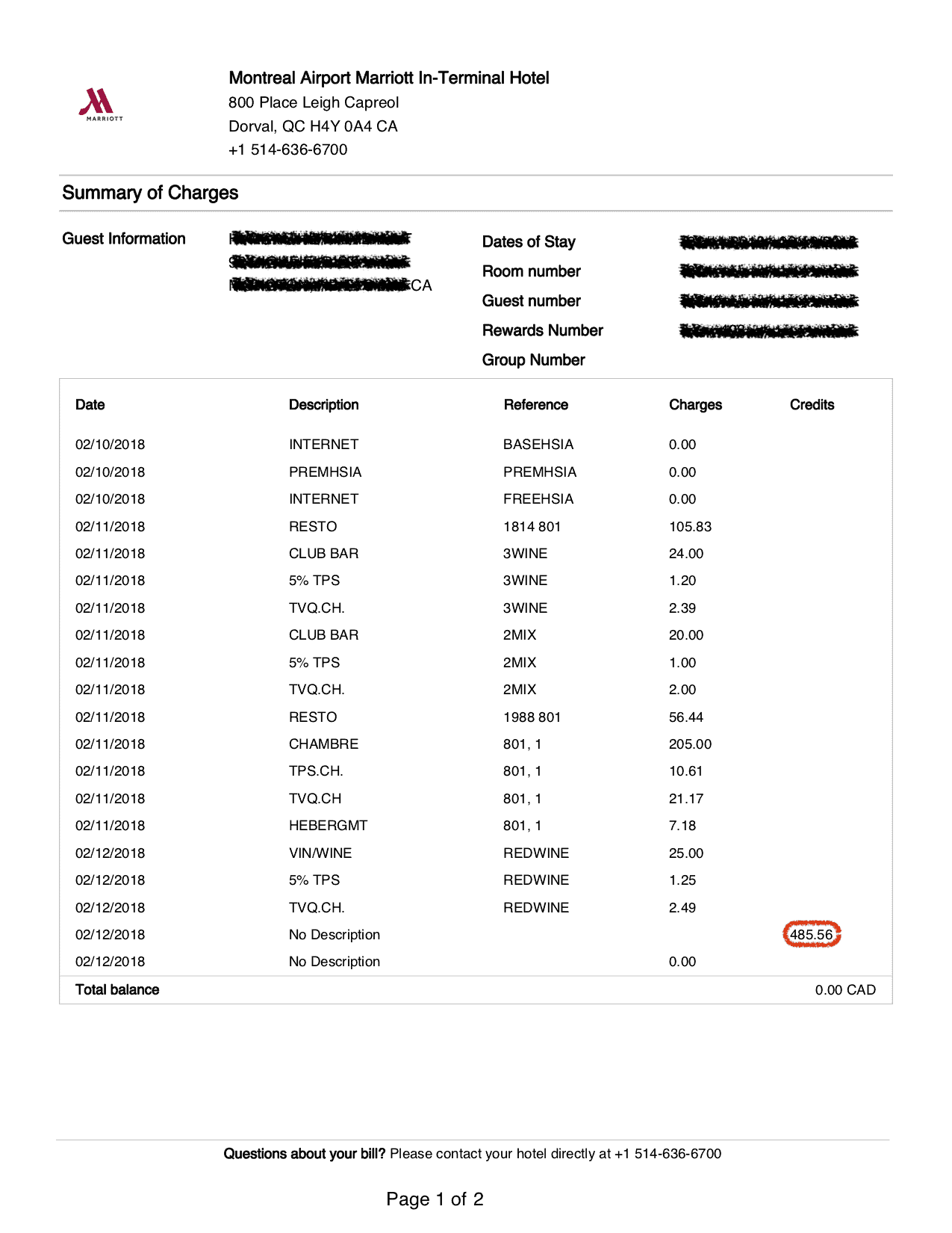 hotelbill 4840 redacted