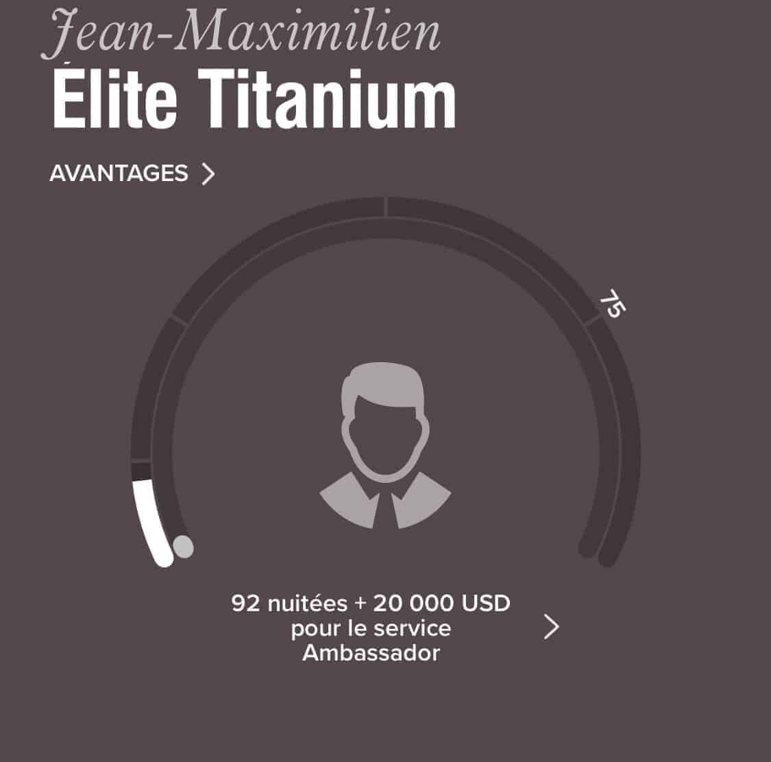 statut elite titanium marriott