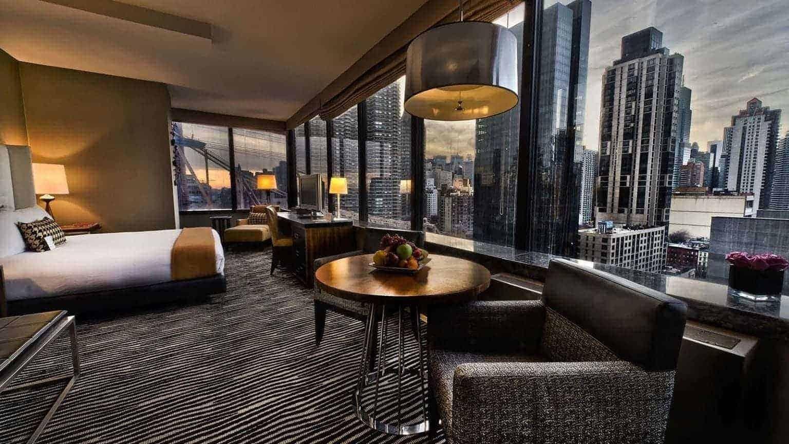junior suite at bentley hotel new york
