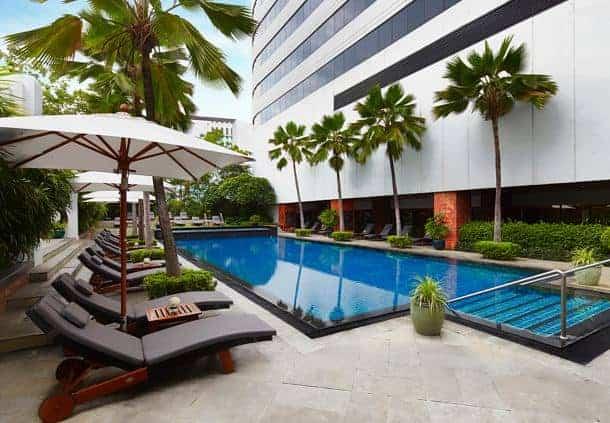 jw marriott bangkok piscine