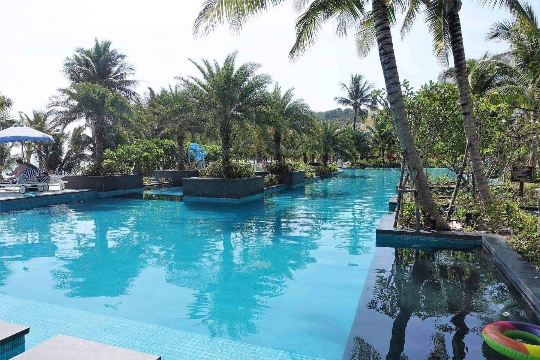 jw marriott phu quoc piscine plage 27