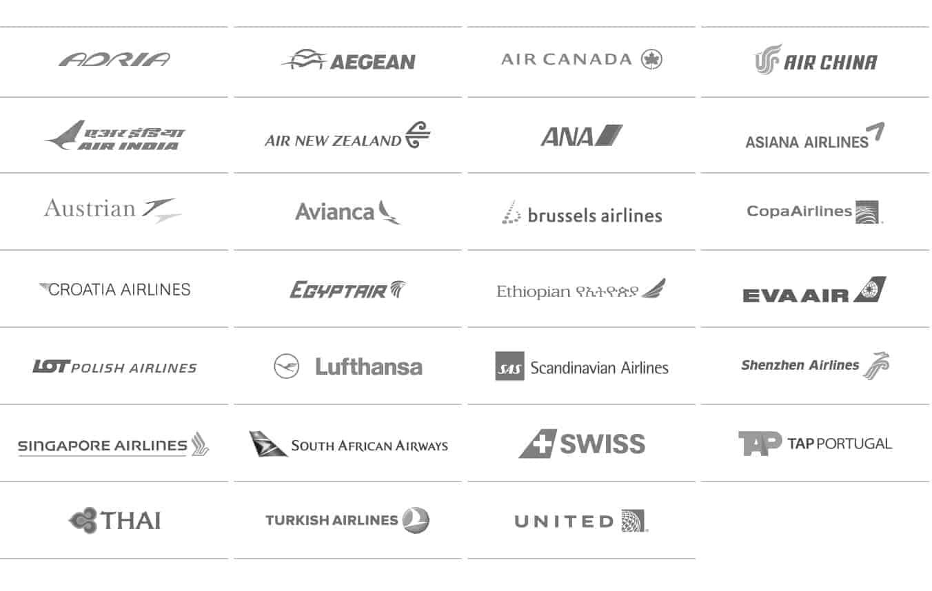 liste des compagnies star alliance