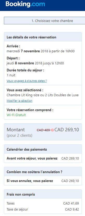 marriott montreal booking
