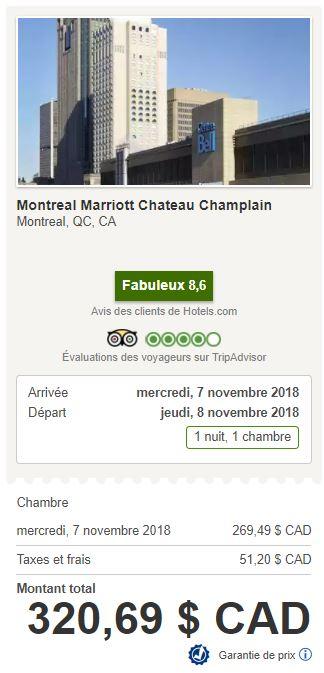 marriott montreal hotels