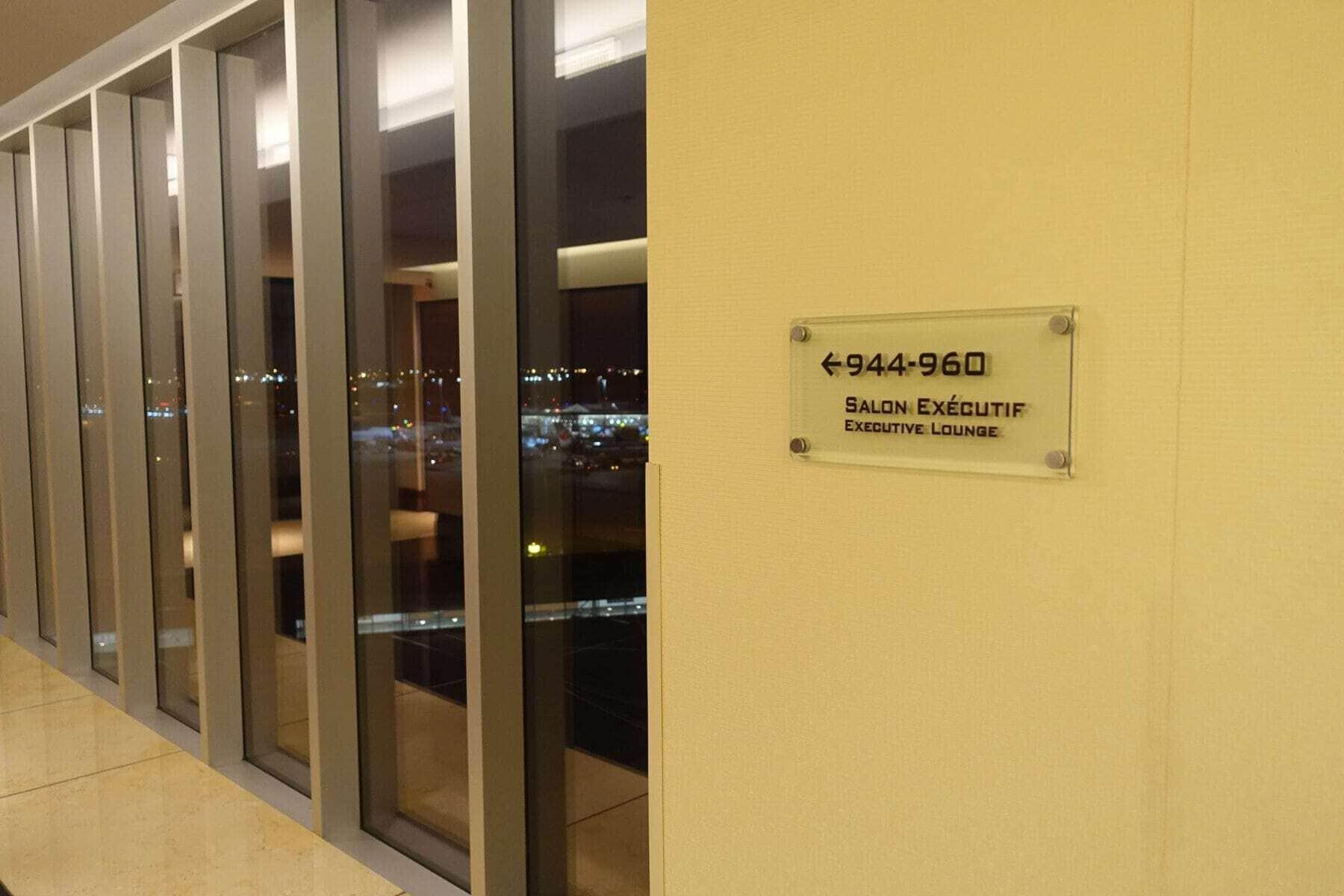 marriott terminal aeroport montreal yul - salon executif
