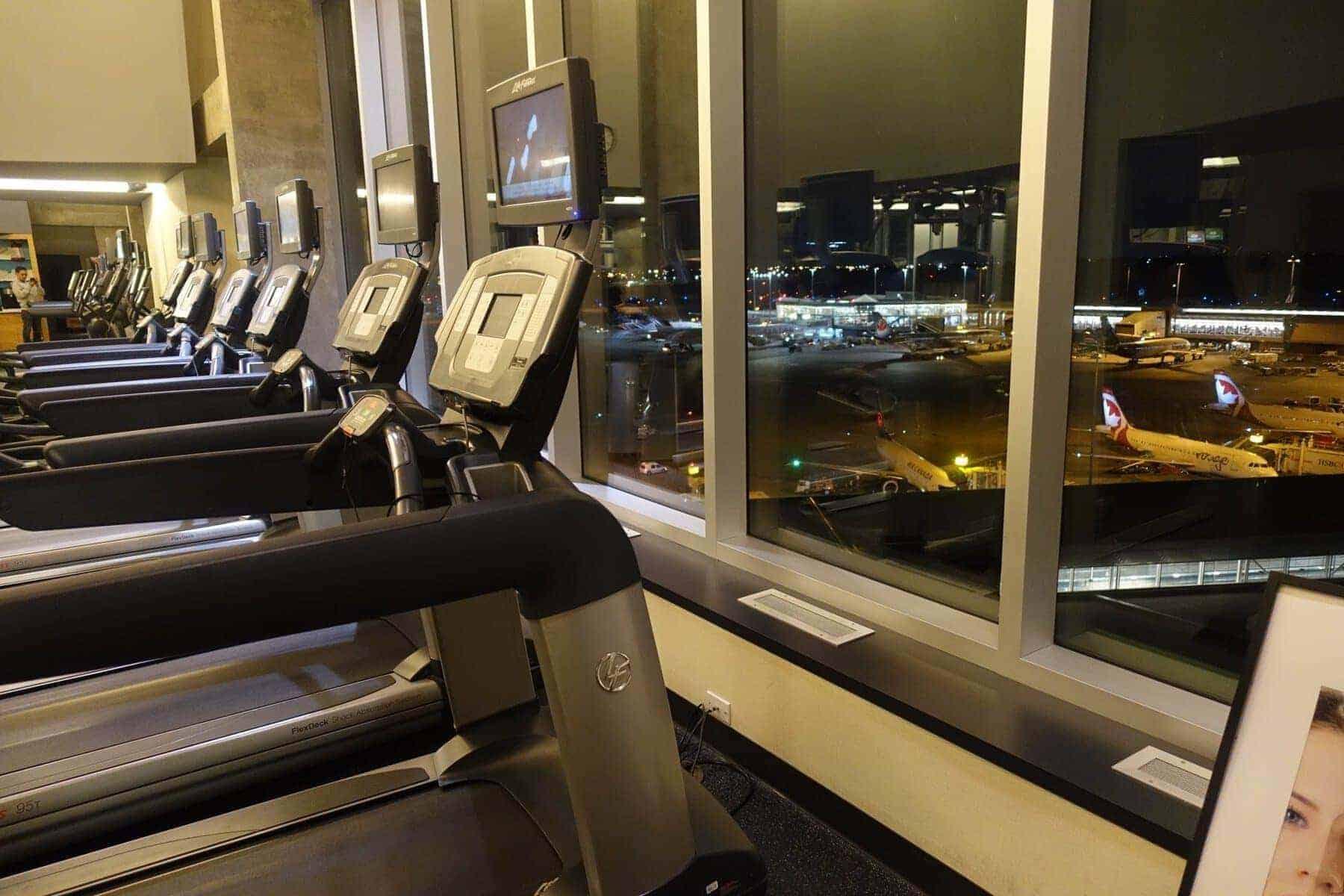 marriott terminal aeroport montreal yul - salle de sport