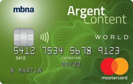 mbna argent content world