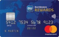 mbna best western rewards card french