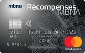 mbna recompenses new
