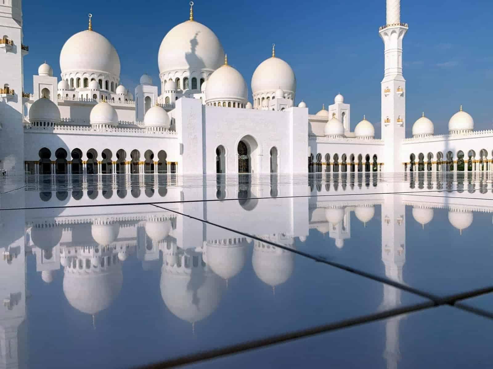 miroir mosquee sheikh zayed
