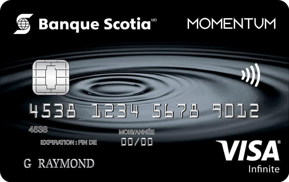 momentum visa infinite fre