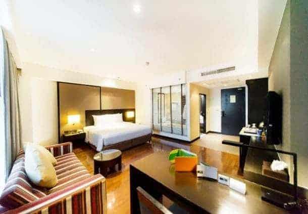 mr courtyard south pattaya chambre