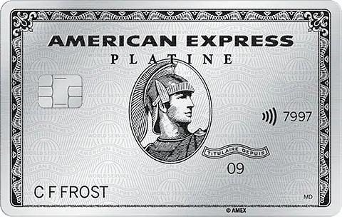 nouvelle carte platine american express