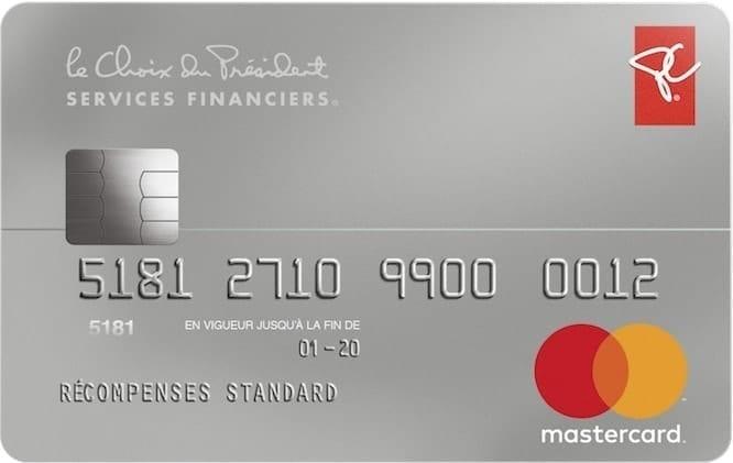 Carte Mastercard Services Financiers Le Choix Du President Milesopedia