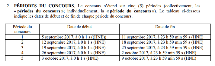 periode concours ap
