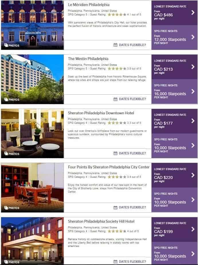 philadelphia spg hotels 1
