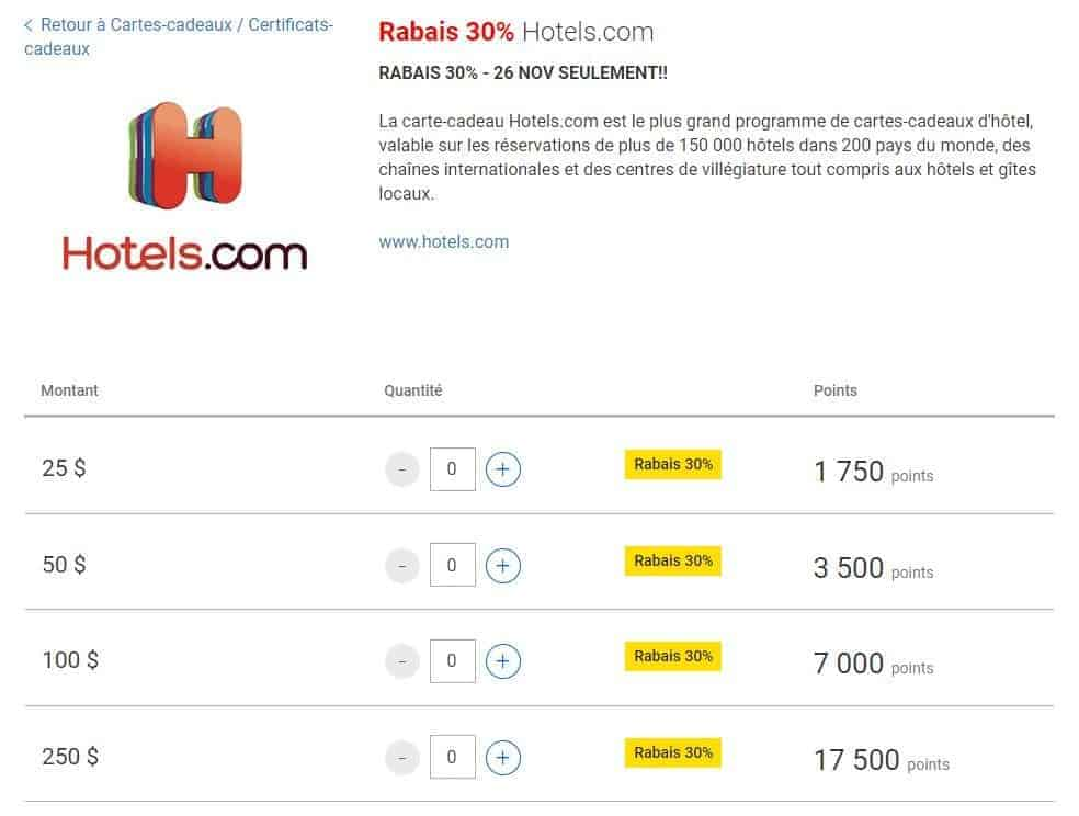 rbc hotels cyber lundi
