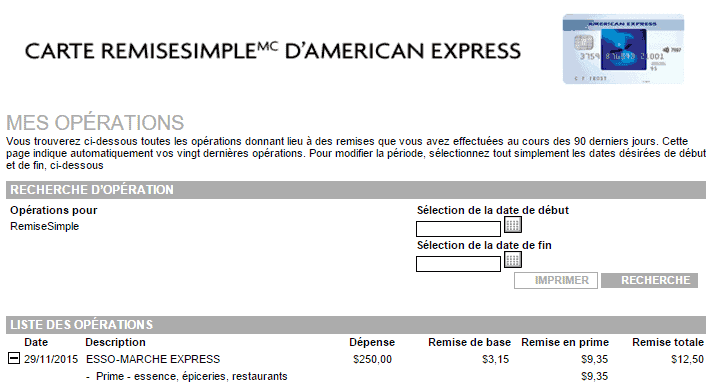 releve amex