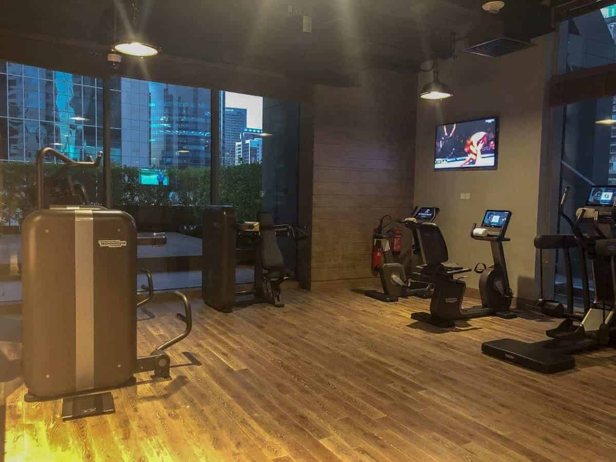 renaissance-downtown-hotel-dubai-gym