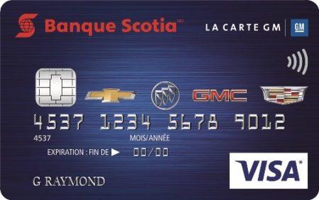 scotiabank gm visa