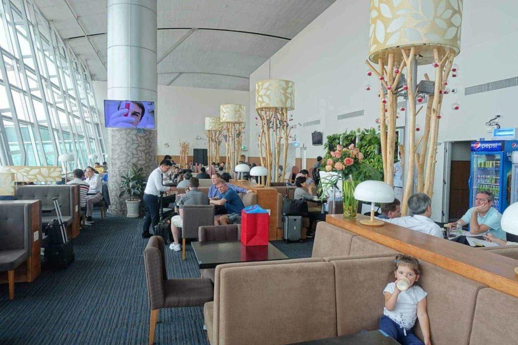 Salon Rose Business Lounge - Ho Chi Minh City SGN - classe affaires