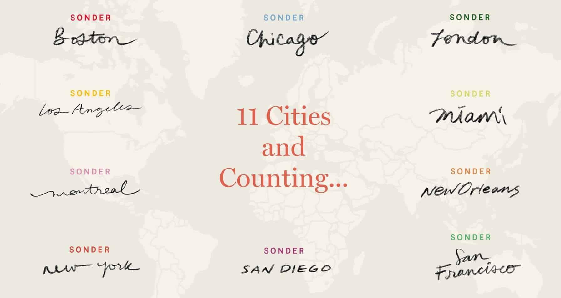 sonder cities