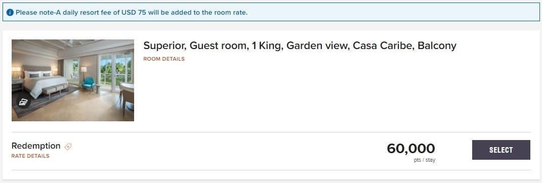 st regis resort fee