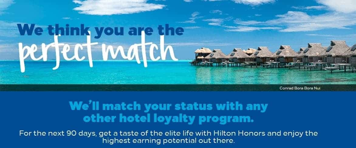 status match hilton honors explication