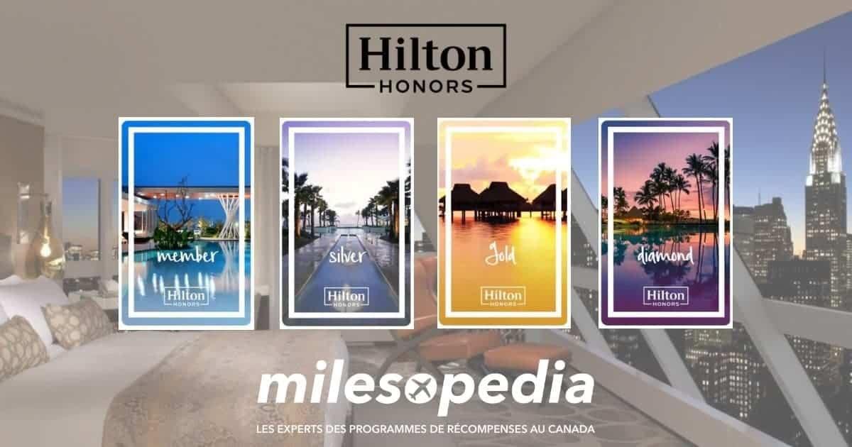 statuts hilton honors