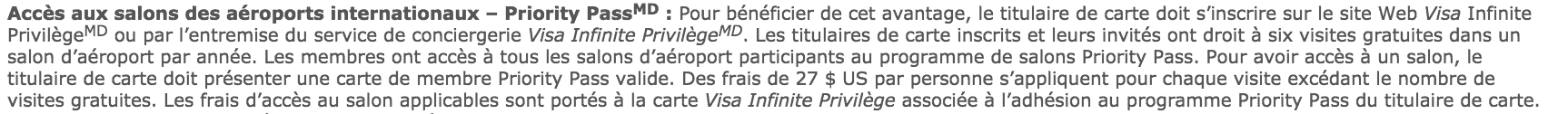 td infinite privilege priority pass