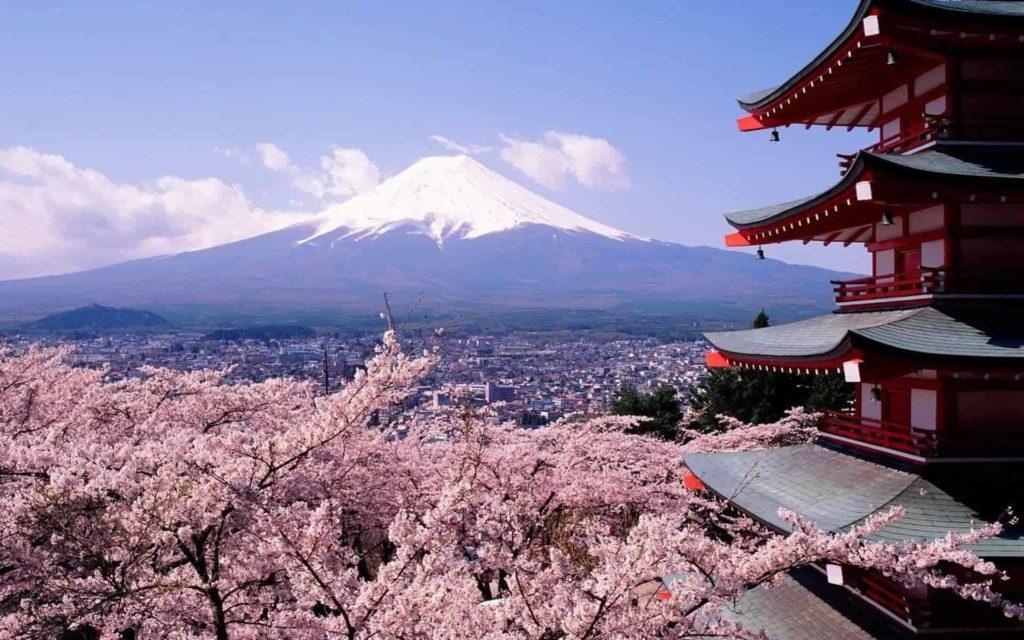 tokyo spring fuji