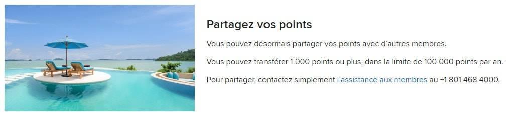 transfert points marriott bonvoy 1