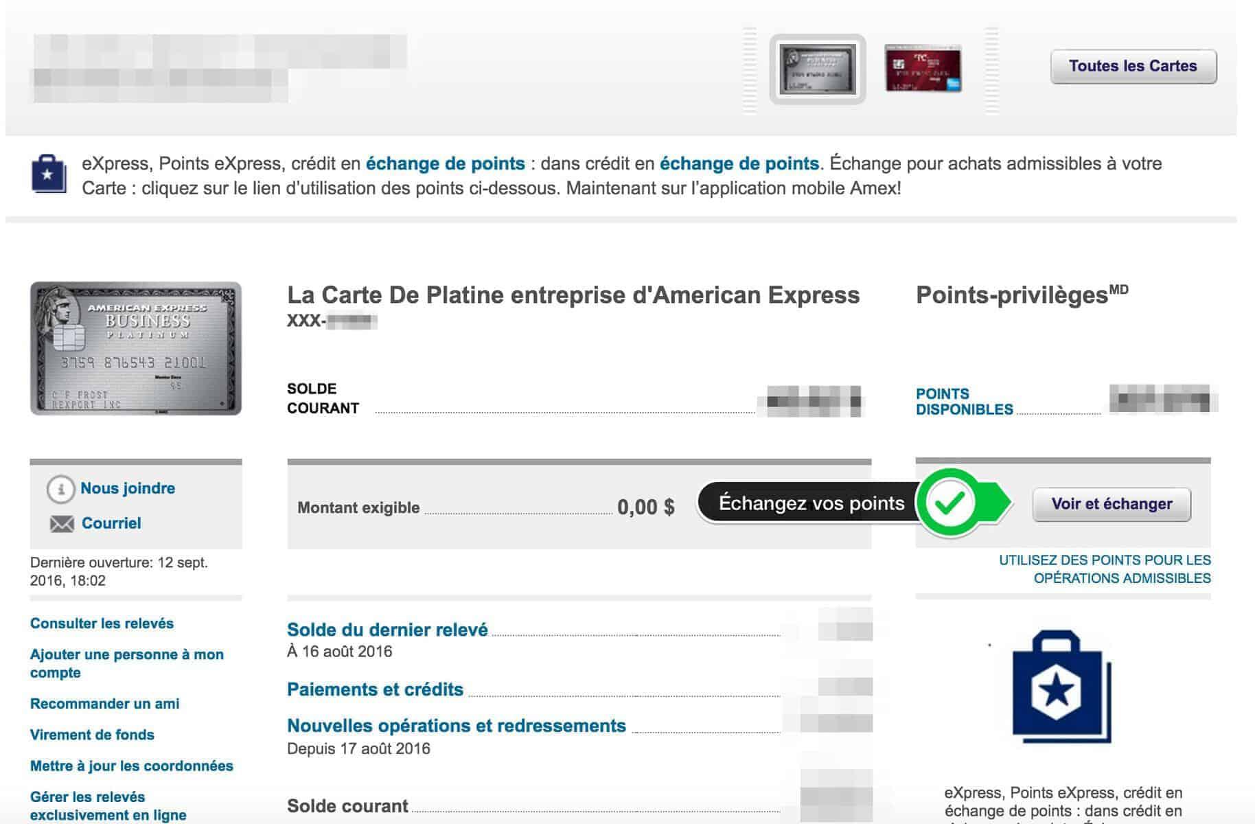 Connexion à votre compte American Express