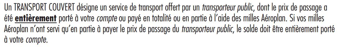 transport couvert td