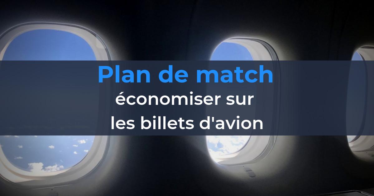 travel hacking plan match billet avion