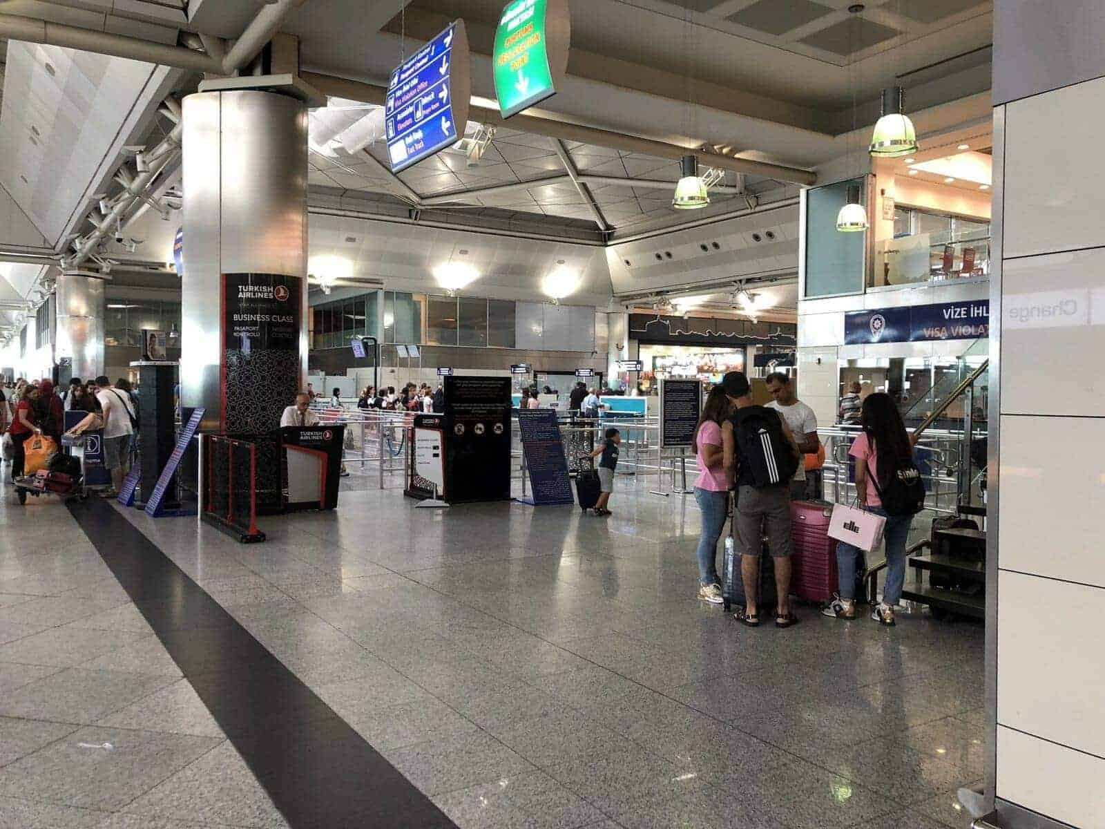 turkish airlines istanbul beyrouth affaires 7
