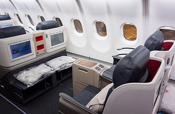 turkish airlines new business class seats a333